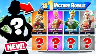 WINTER Random SKIN - Nouveau Mode de jeu Challenge dans Fortnite Battle Royale