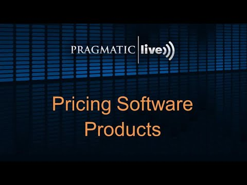 Pricing Software Products