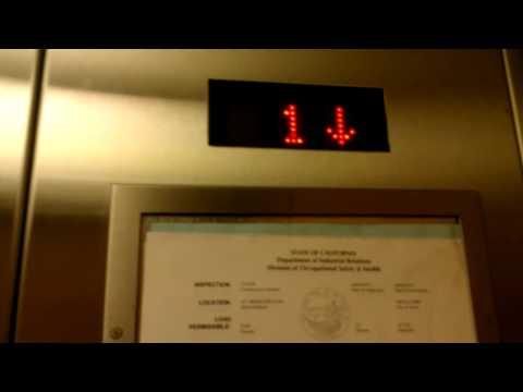 Montgomery Kone Hydraulic Elevator at Middlefield Medical plaza in Menlo Park CA