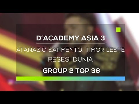 D'Academy Asia 3 : Atanazio Sarmento, Timor Leste - Resesi Dunia