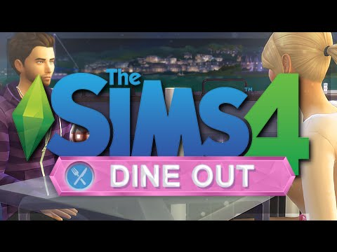 THE SIMS 4 | DINE OUT  — Overview + Gameplay