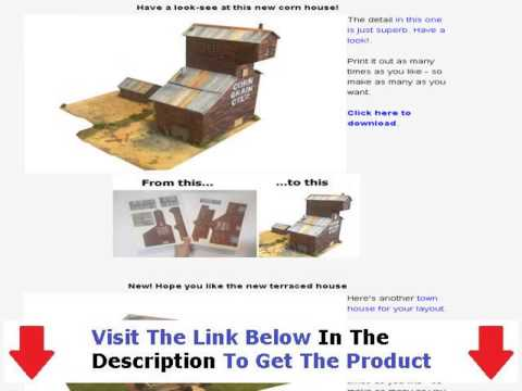 Model Railway Loft Layouts + Model Train Scenery Kits
