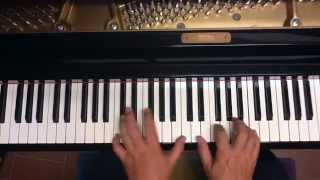Tutorial piano y voz Castillos en el aire ( Alberto Cortéz )