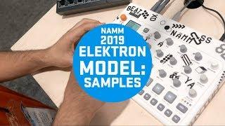 Elektron Model:Samples #Namm2019