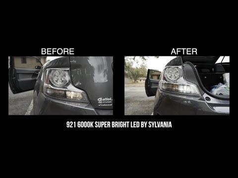 2016 Scion tC (parking & reverse light LED swap)