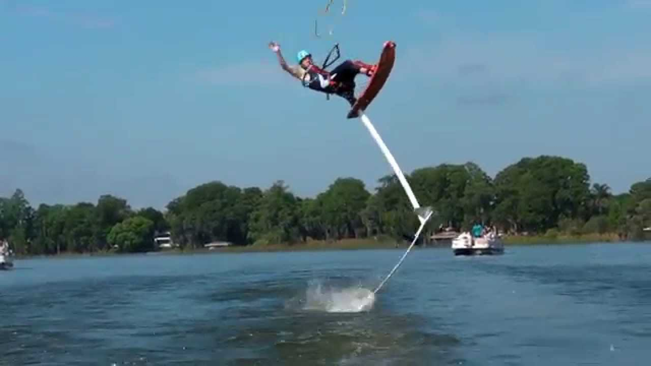 hydro chair water ski milo baughman lounge tallest sit down hydrofoil 14 6ft geno yauchler youtube