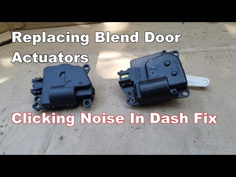 how-to-replace-blend-door-actuator-dodge-avenger-(clicking-tapping-noise-in-dash-fix)