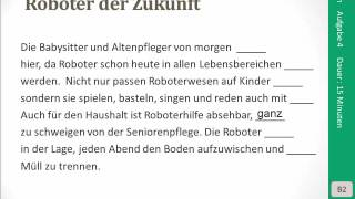 Goethe Zertifikat B2 Lesen Aufgabe 4