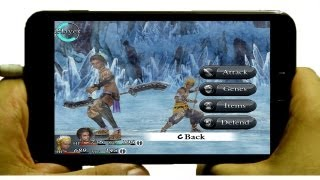CHAOS RINGS ANDROID GAMEPLAY Samsung Galaxy Note 2012 Games | ITF