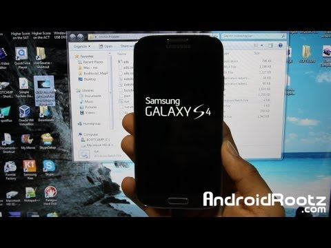 How To Root Galaxy S4! [ALL Qualcomm Models] [Windows]