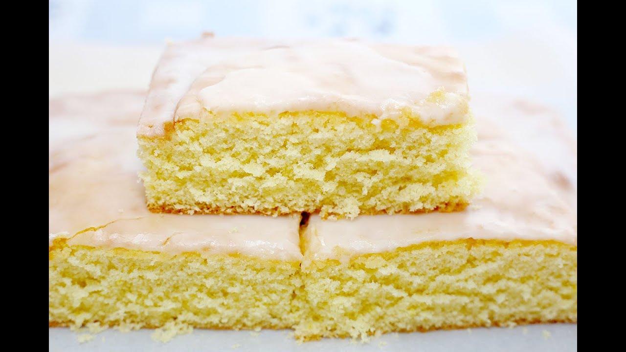 เค้กมะนาวนุ่มๆหอมๆ : How to make Soft and Fluffy Lemon Cake - YouTube