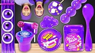 Фиолетовая Еда! Челлендж от Пико Поки