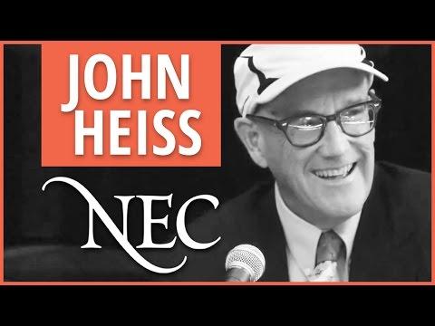 An Interview with John Heiss
