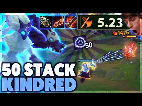 MOST STACKS EVER  MAX RANGE KINDRED  BunnyFuFuu