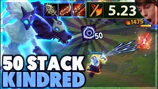 MOST STACKS EVER | MAX RANGE KINDRED - BunnyFuFuu