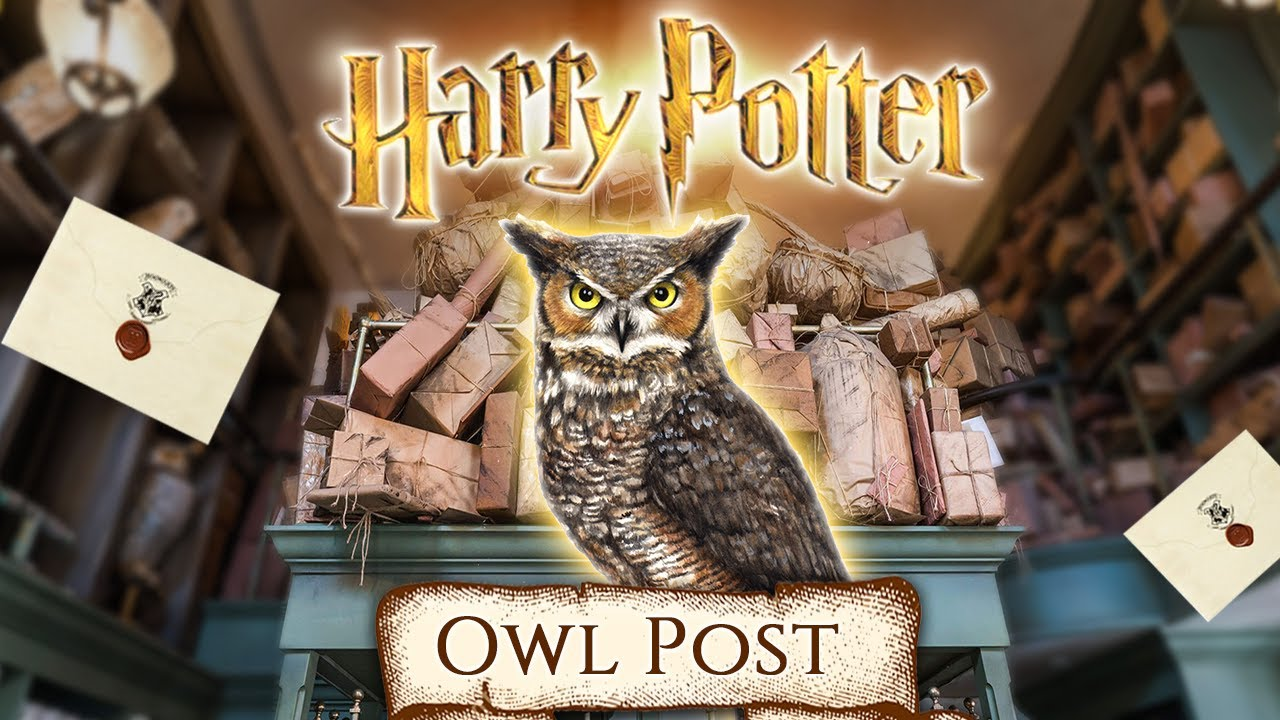 Owl Post 🦉 [ASMR] Diagon Alley - Harry Potter inspired Ambience 📝 Letter writting ✉️ Package sounds📦