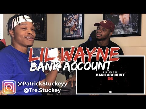 Lil Wayne - Bank Account (Official Audio) | Dedication 6 - REACTION