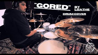 Anup Sastry - Loathe - Gored Drum Cover