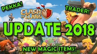 Clash of Clans Update 2018 | Trader | Pekka | Wall Ring | Attack Strategy