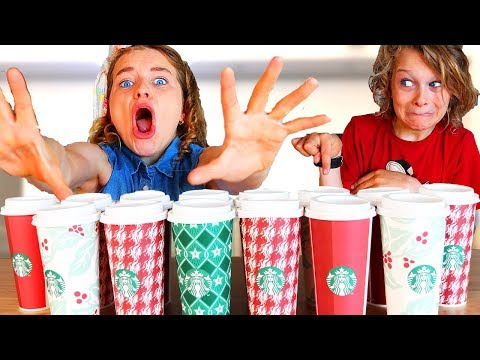 Don't Choose the Wrong Starbucks Slime Challenge!! ft Norris Nuts