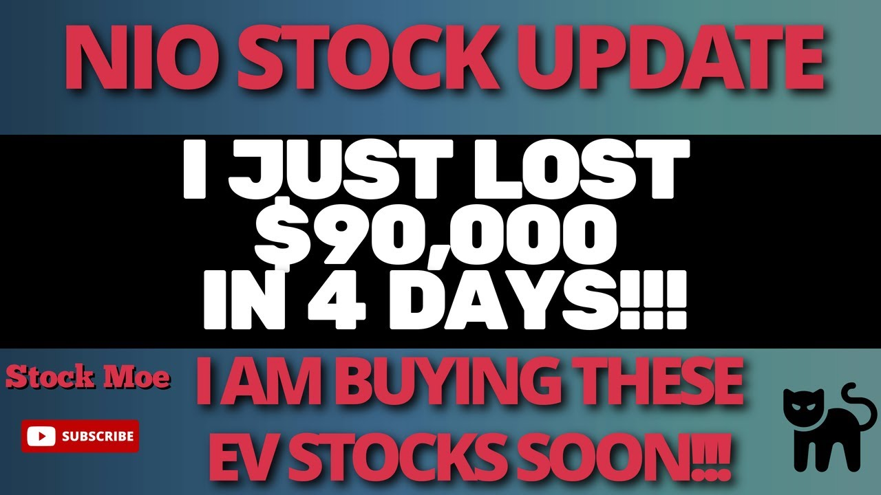 Download I JUST LOST $90,000 IN THIS WEEK'S STOCK MARKET CRASH And NIO STOCK PRICE & TESLA STOCK PRICE UPDATE