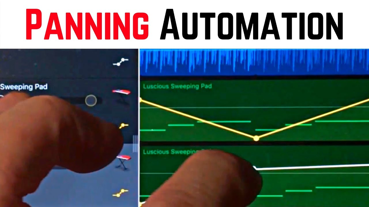 Panning Automation In Garageband Ios Iphone Ipad Garageband For