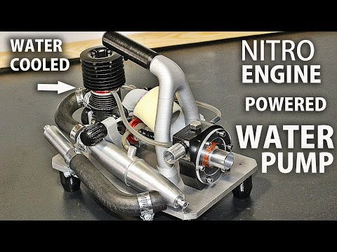 Nitro Engine Powered Water Pump