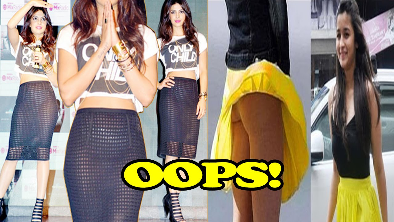 Bollywood Actresses Wardrobe Malfunction Oops Moments Of
