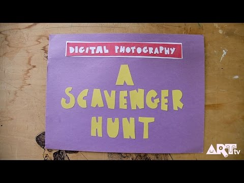 Digital Photography Scavenger Hunt HOW TO