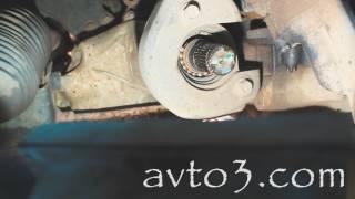 замена подшипника промежуточного вала опель антара
