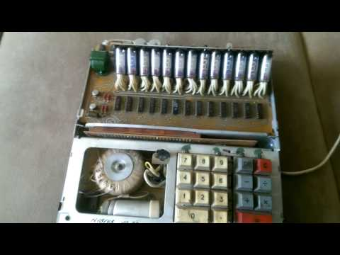 Советский калькулятор ИСКРА