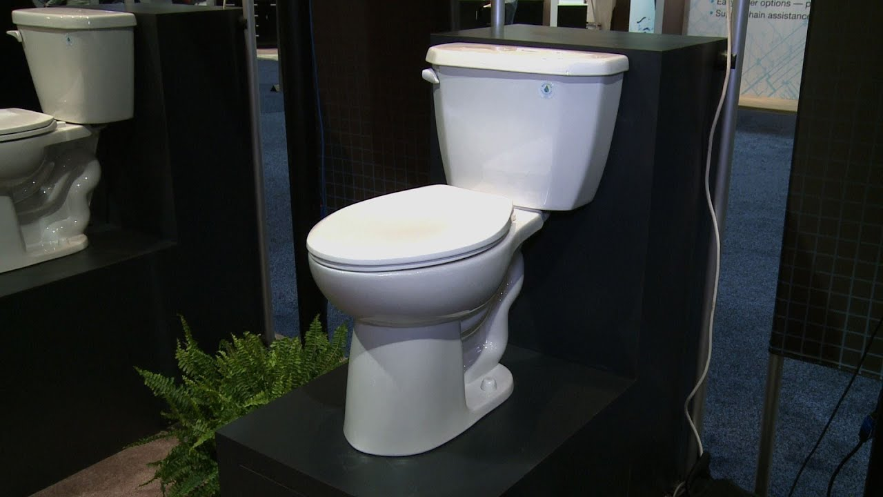 Space-saving Gerber Viper toilet | Consumer Reports - YouTube
