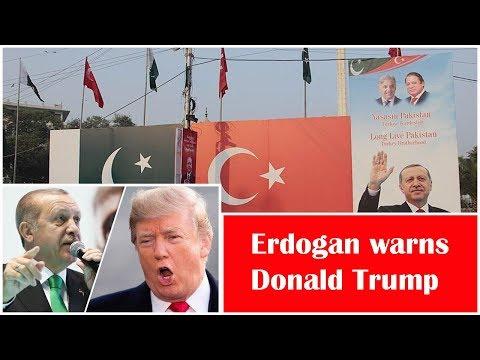 Turkey's Erdogan slams US, Israel for intervention in internal affairs of Pakistan