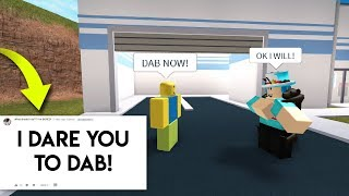 DARES ON ROBLOX PART 2! | Jailbreak