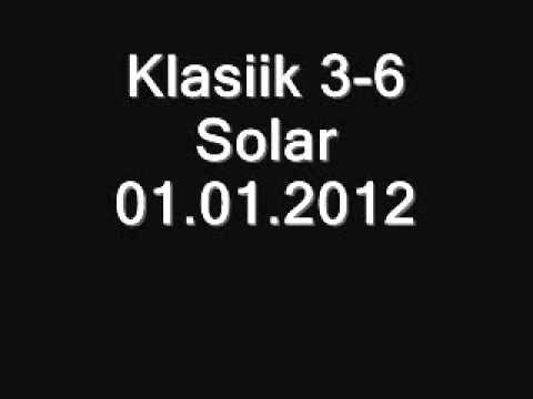 Klasiik 3-6 Solar 01.01.2012 Rap Sesja
