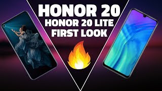 Honor 20 and Honor 20 Lite First Look - Prices, Design, and Key Specifications