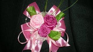 Бутоньерка для свидетеля. Свадьба в цвете Фуксии часть 6. / Wedding flowers