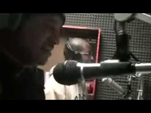 Lucky Lansky at WSTU 98.1 radio with DJ Miami Mystro