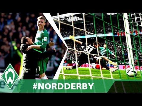 DERBYSIEGER! Florian Kainz trifft zum 2:1-Sieg   SV Werder Bremen - Hamburger SV 2:1