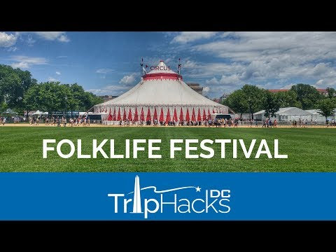 Inside the Smithsonian Folklife Festival on the National Mall