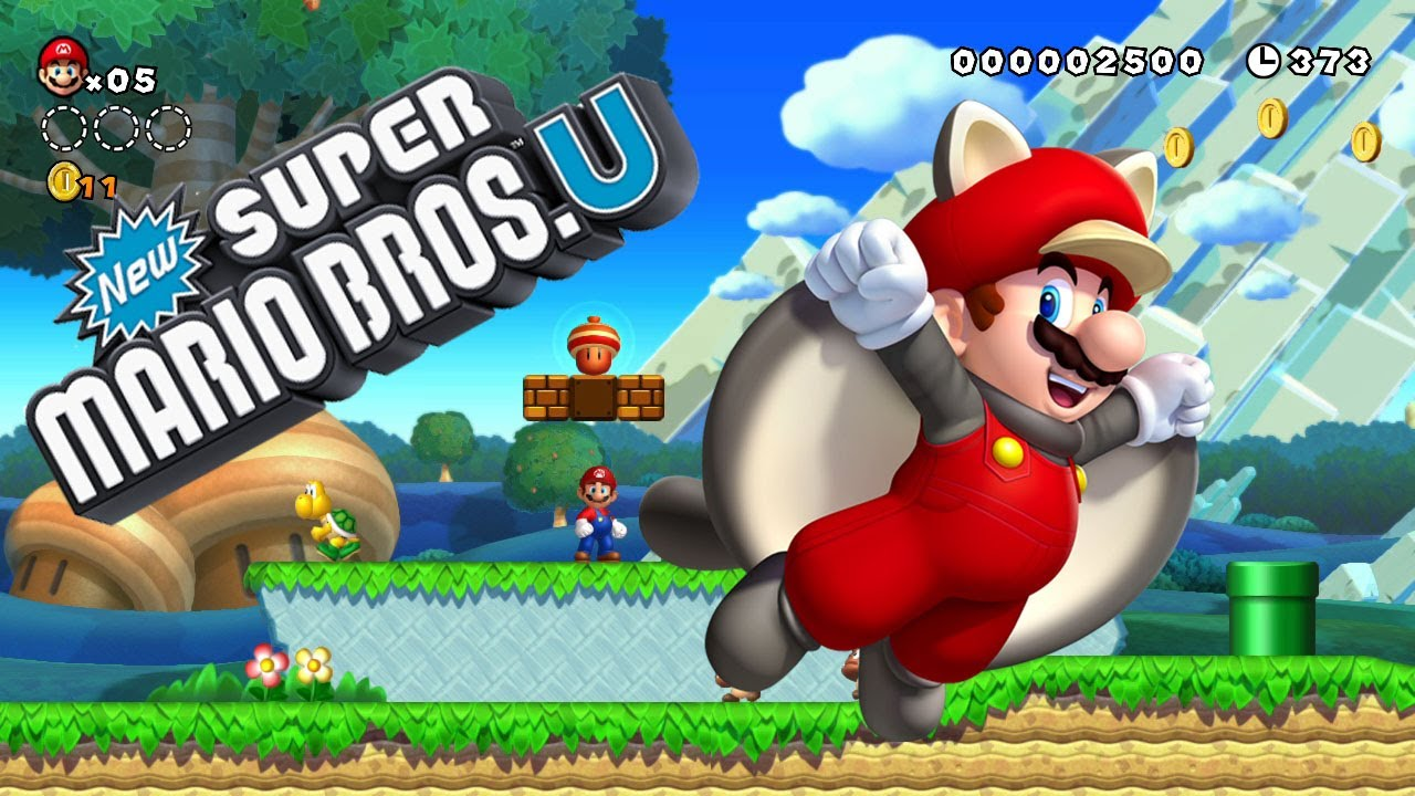 New Super Mario Bros Wii U Youtube