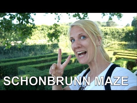 Lost in Crazy Maze at Schonbrunn Palace - Austria ep 7: | Travel Vlog