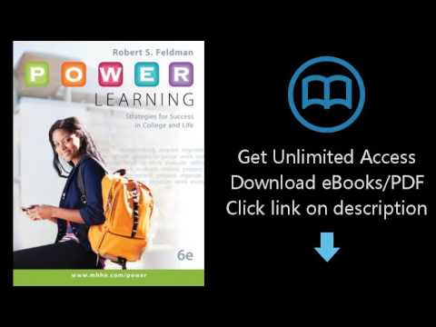 P.O.W.E.R. Learning: Strategies for Success in College and Life with Connect Access Card