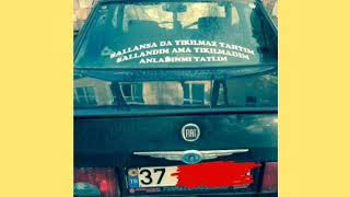 Araba Arkasi Yazilari