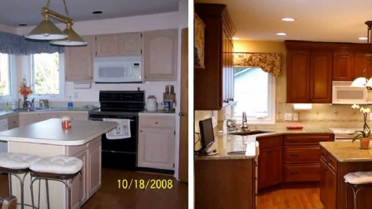 Ideal Cabinet Refacing Of Naples Before & After Photos