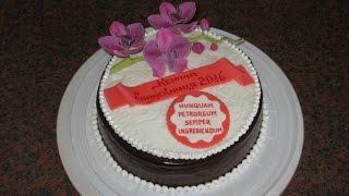 Торты на Выпускной. Торт Омбре. Торт Свинка Пеппа.