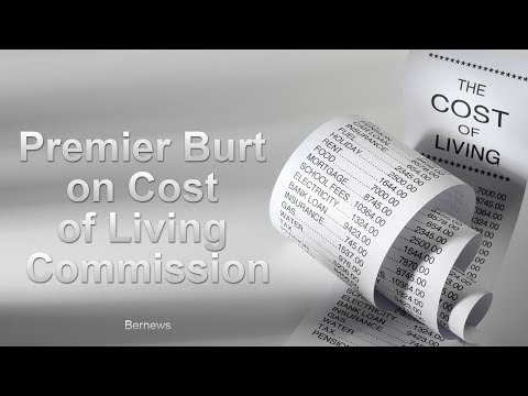 Premier Burt On Cost Of Living Commission, Dec 2017