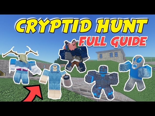 How To Complete Cryptid Hunt In Roblox Arsenal Full Guide Youtube