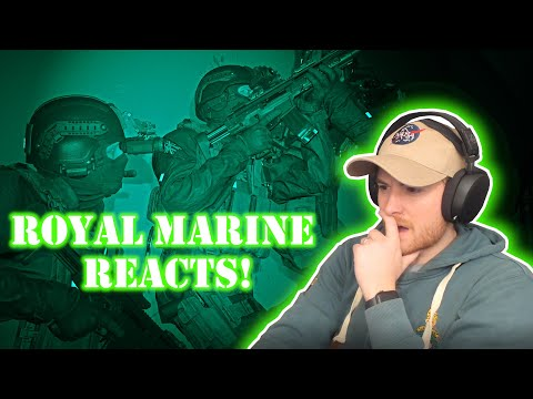 Royal Marine Reacts to Clean House Modern Warfare Mission!
