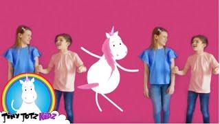Unicorn Dance I Unicorn I Unicorn Kids I Rainbow Unicorn I Unicorn Song I Fun Unicorn | TinyTotzKidz